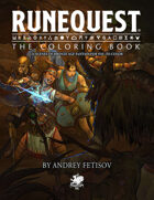 The RuneQuest Coloring Book