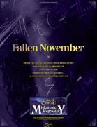 【Korean】 Fallen November