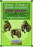 Corallo's Zenith Counters: Giant Baboons (And the Lost Temple of Simian God)