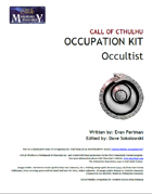 Call of Cthulhu Occupation Kit: Occultist