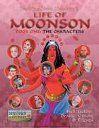Life of Moonson, Book One: The Characters