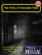The Folly of Ponsonby-Wild