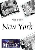 Art for New York - Masks of Nyarlathotep