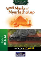 Cthulhu Maps - Masks of Nyarlathotep - ch4 - Kenya Pack