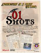 01Shots Adventures in 2 Pages: March 2021