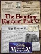 The Haunting Handout Pack V.2