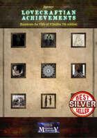 Lovecraftian Achievements - a Zgrozy supplement
