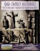 QAD: Family Histories - 101 Esrolian Character Backgrounds