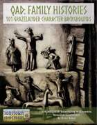 QAD: Family Histories - 101 Grazelander Character Backgrounds