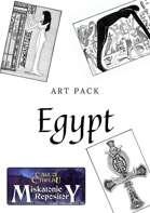 Art of Egypt- Masks of Nyarlathotep