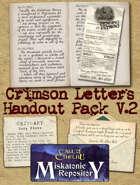 Crimson Letters Handout Pack