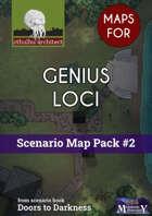 Cthulhu Maps - Scenario Map Pack #2 - Genius Loci
