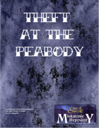 Theft at the Peabody