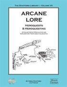 Stafford Library - Arcane Lore