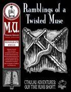 Ramblings of a Twisted Muse