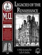 Legacies of the Renaissance