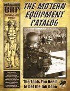 Modern Equipment Catalog