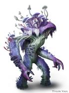 Myconid Brute - Fantasy monster - Stock art