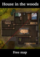 House in the woods - Free Map - Arsenico13 August 2021