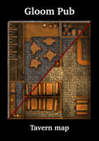 Gloom Pub - Arsenico13 Tavern Map - August 2021