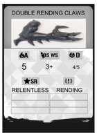 Fillable PDF Weapon Card - Kill Team 2.0 (2021)