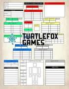 Origin RPG Character Sheet