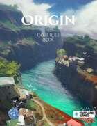 Origin: Core Rule Book Black and White edition