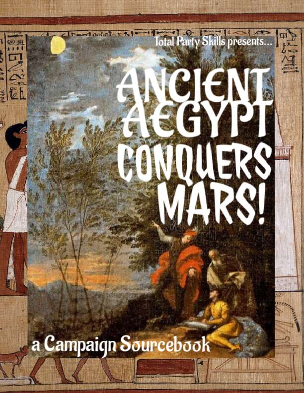 ANCIENT AEGYPT CONQUERS MARS!
