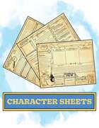 Magic School Mystery Character Sheets