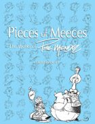 Pieces of Meeces: The Works of Phil Mendez, Sketchbook #1