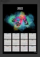 2022 Yearly Dice Calendar (Printable PDF)