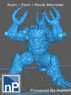 Xorn / Zorn / Rock Monster [STL]