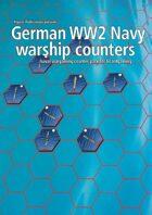 German Navy WW2 warship hex counters