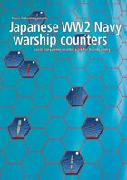 Japanese Navy WW2 warship hex counters