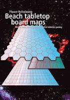 FSpaceRPG Beach tabletop board maps