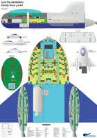 Vanity Rose yacht ship plans sheet