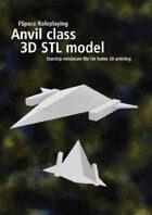 Anvil class 3D STL model