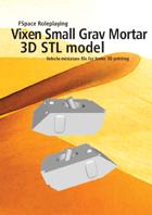 Vixen Small Grav Mortar 3D STL model