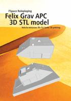 Felix Grav APC 3D STL model
