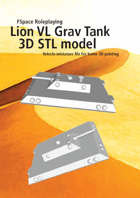 Lion Very Large Grav Tank 3D STL model