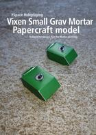 Vixen Small Grav Mortar Papercraft model