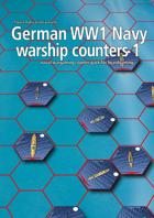 German Navy WW1 warship hex counters