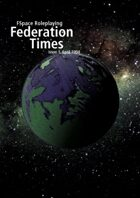 FSpaceRPG Federation Times issue 1, April 1994