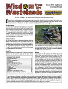 Wisdom from the Wastelands Issue #11: Optional Combat Rules