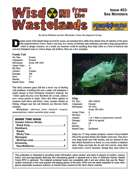 Wisdom from the Wastelands Issue #23: Sea Monsters