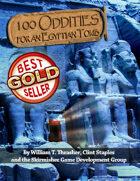 100 Oddities for an Egyptian Tomb