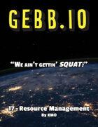Gebb 17 – Resource Management
