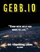Gebb 66 – Opening Lines