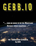 Gebb 76 – Selection Criteria