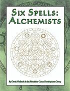 Six Spells: Alchemists